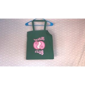 High Rollers Club Canvas Tote